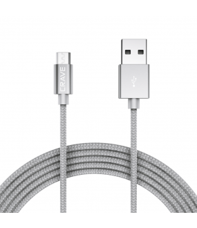 Crave Micro To USB Cable Silver