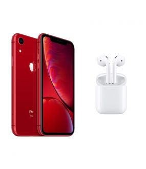 fed8c74aa588 iPhone XR 64GB RED + Apple AirPods