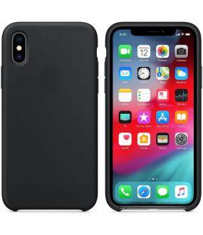 meet b6502 3d8a5 iPhone XS Max Silicone Case - Black