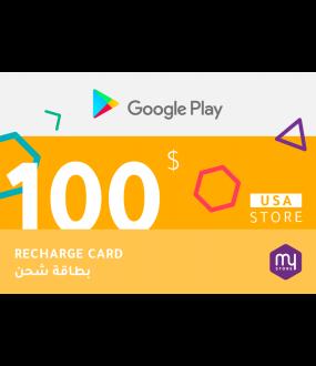Google Play 100 USD - USA Store